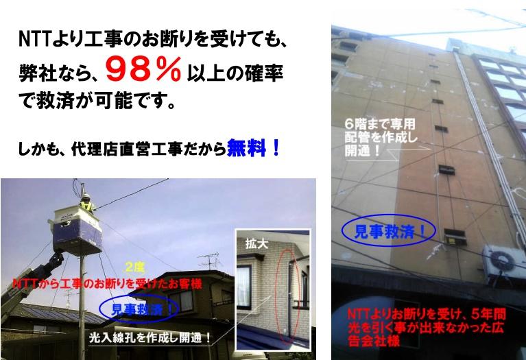 NTT救済工事